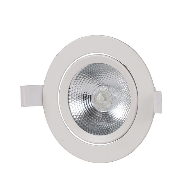 3w-18w COB 90lm Round Shape 2835chip with lens 85-265v CE Certified LED Down Lights