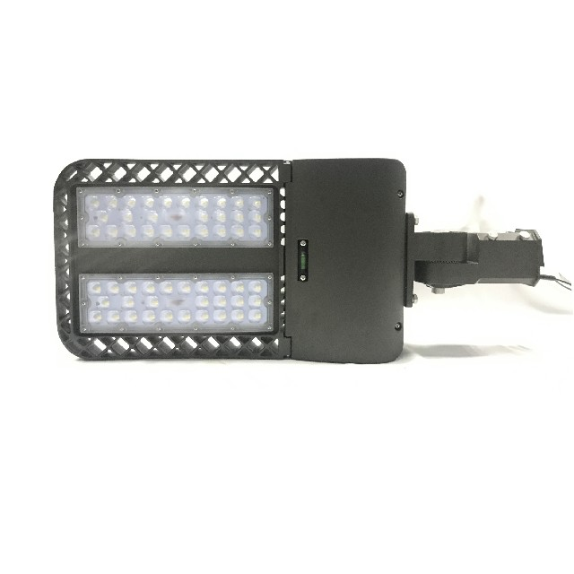 400w Durable in use IP65 public area pole mounted parking lot tennis court LED sheobox light